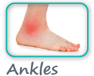 ankle pain cork
