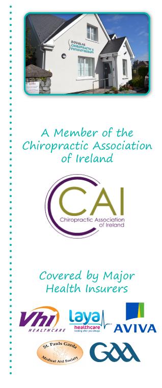 Chiropractor Cork fees price first visit