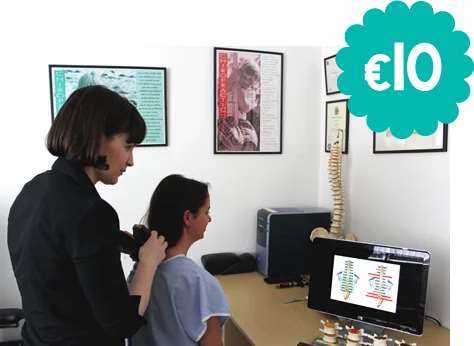 €10 first chiropractic visit cork