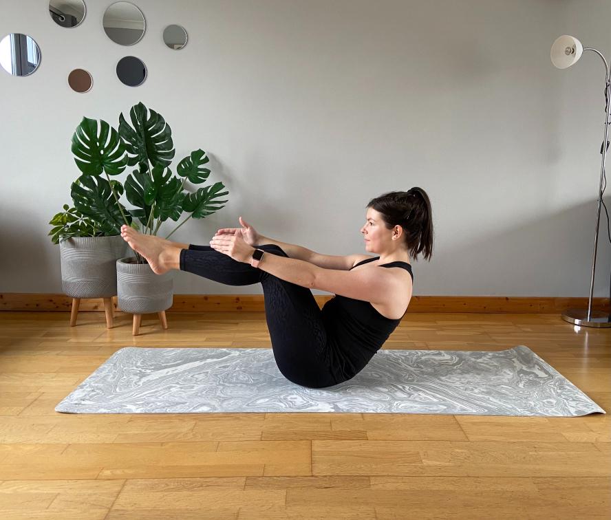 mat pilates session